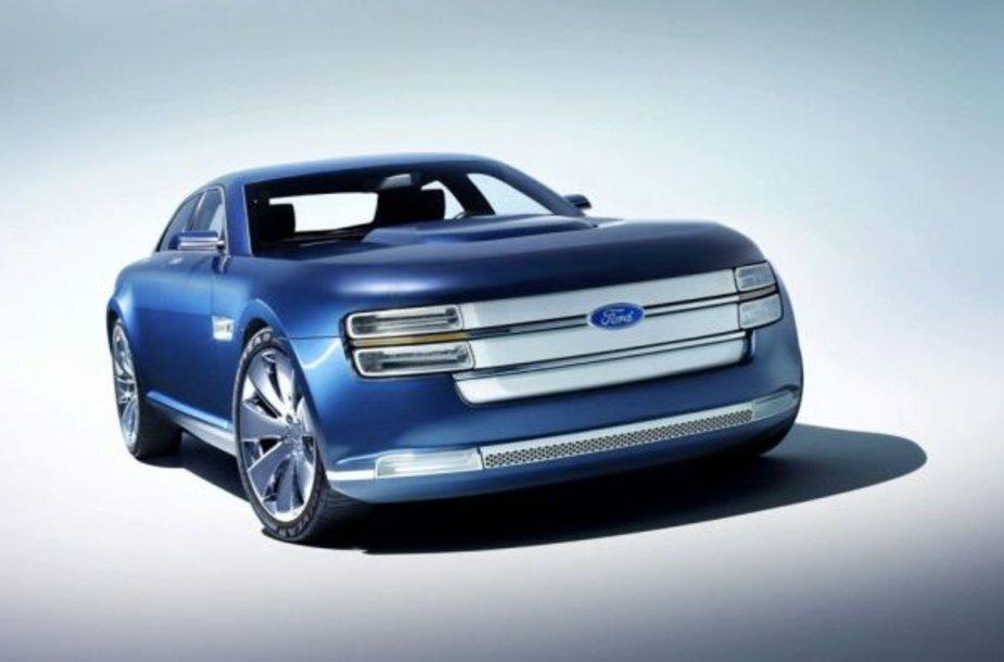 """""""Ford Interceptor Concept"""" – naujas JAV policijos žaisliukas"""