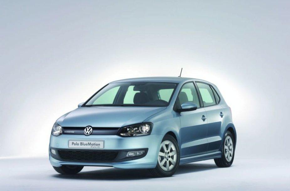 """Volkswagen Polo BlueMotion"" – išskirtinai ekologiškas"