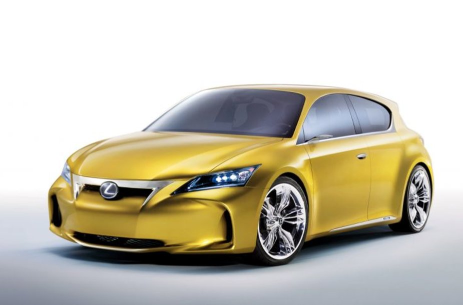 """""""Lexus LF-Ch"""" koncepcija – daugiau nuotraukų"""