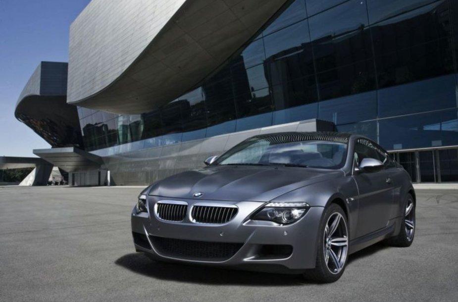 """BMW M6 Competition Limited Edition"" – monstras su makiažu"