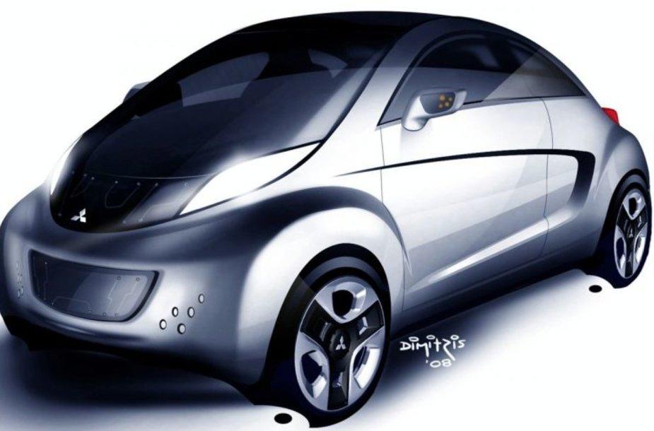 """Mitsubishi i MiEV Sport Air"" koncepcija debiutuos Ženevoje"