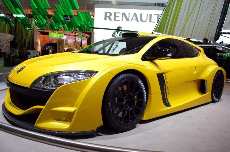 """Ženevoje bus pristatytas """"Renault Megane RS"""""""
