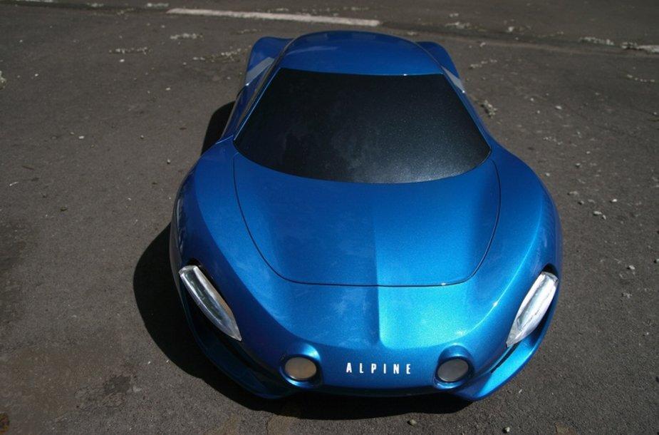 """""""Renault Alpine"""" – kaip galėtų atrodyti prancūziški automobiliai"""