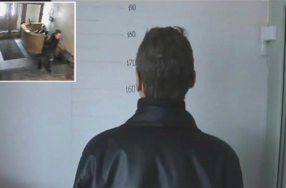 Įrašas, kuriame užfiksuotas Kazimirą Prunskienę apvogęs įtariamasis