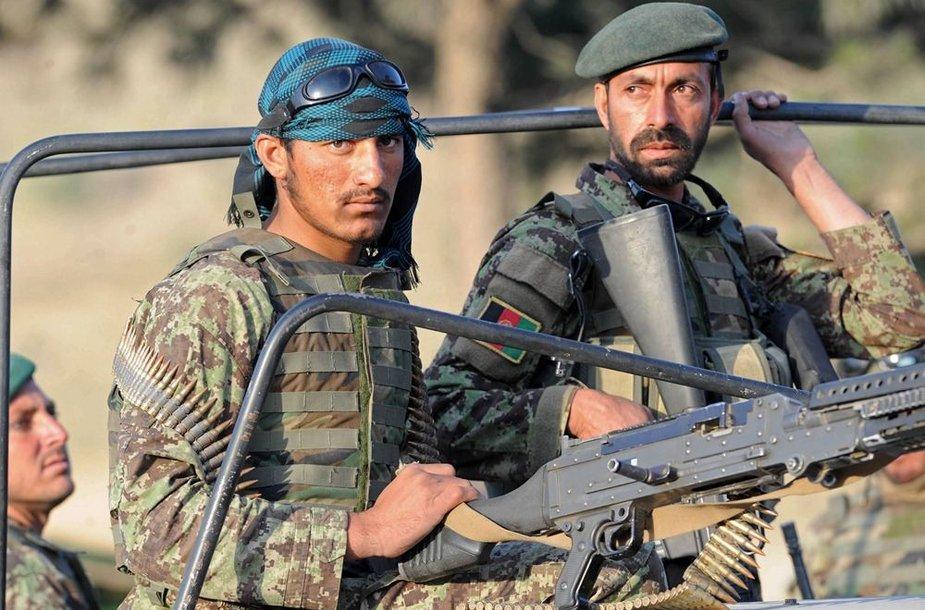 Afganistano armijos kariai