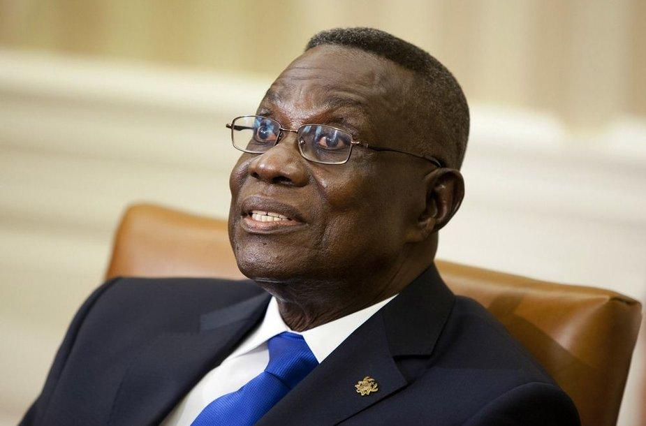 Buvęs Ganos prezidentas Johnas Atta Millsas