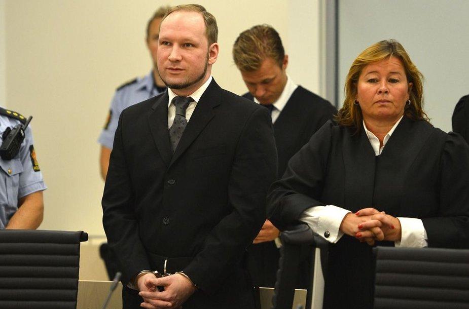 Andersas Behringas Breivikas Oslo teisme