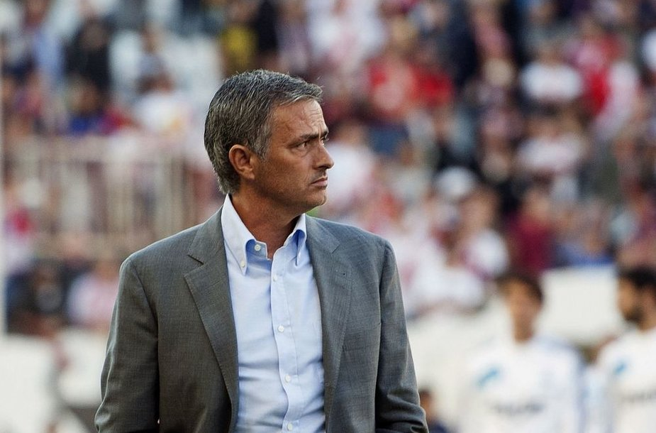 "Madrido ""Real"" treneris Jose Mourinho"