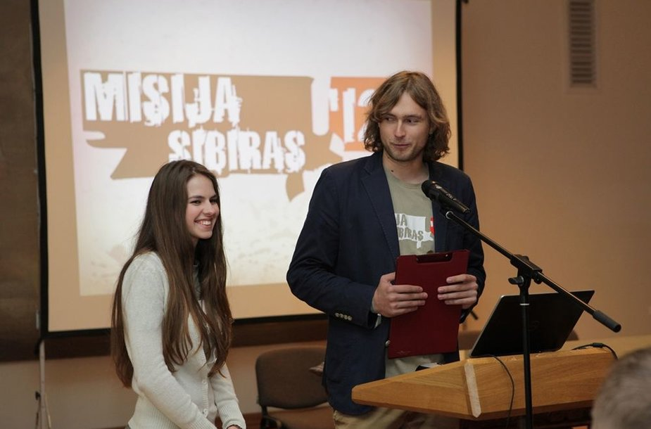 """""""Misija Sibiras'12"""" pristatymas"""