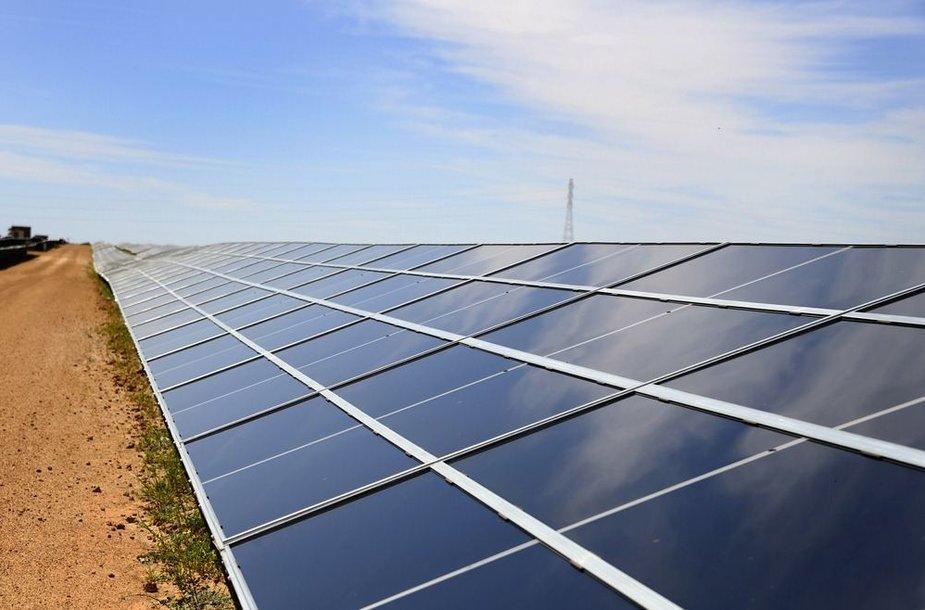 Saulės energijos kolektoriai