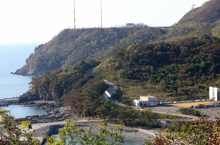 """Pietų Korėjos raketa """"Space Launch Vehicle-I"""""""