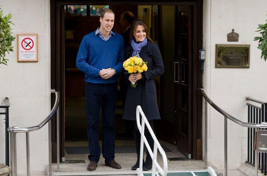 Princas Williamas ir hercogienė Catherine