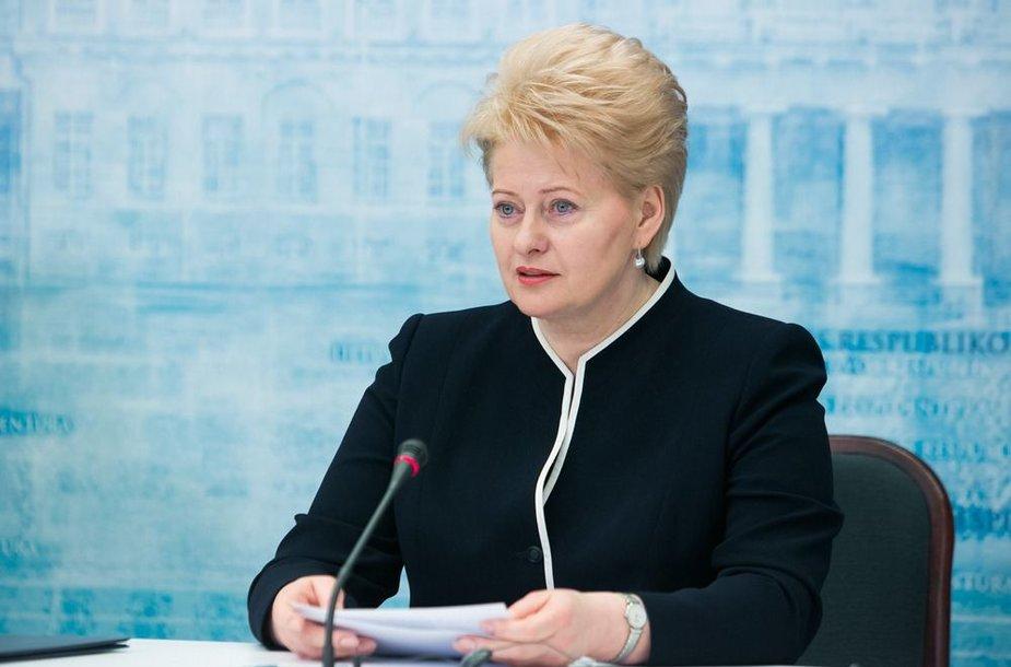 Prezidentė Dalia Grybauskaitė (2013 m. vasario 6 d.)