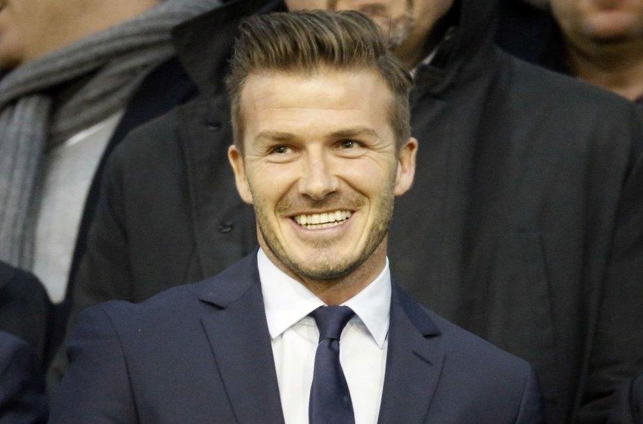 Futbolininkas Davidas Beckhamas