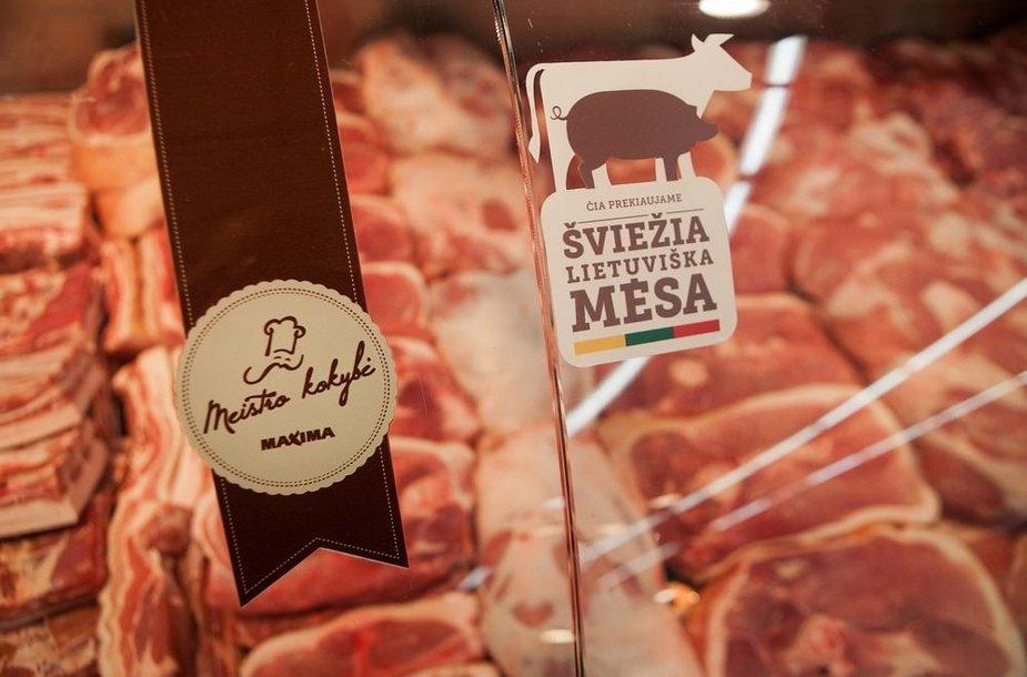 Klientai labiausiai vertina lietuvišką mėsą.