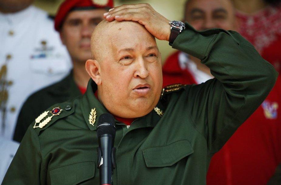 Hugo Chavezas (2011 m.)