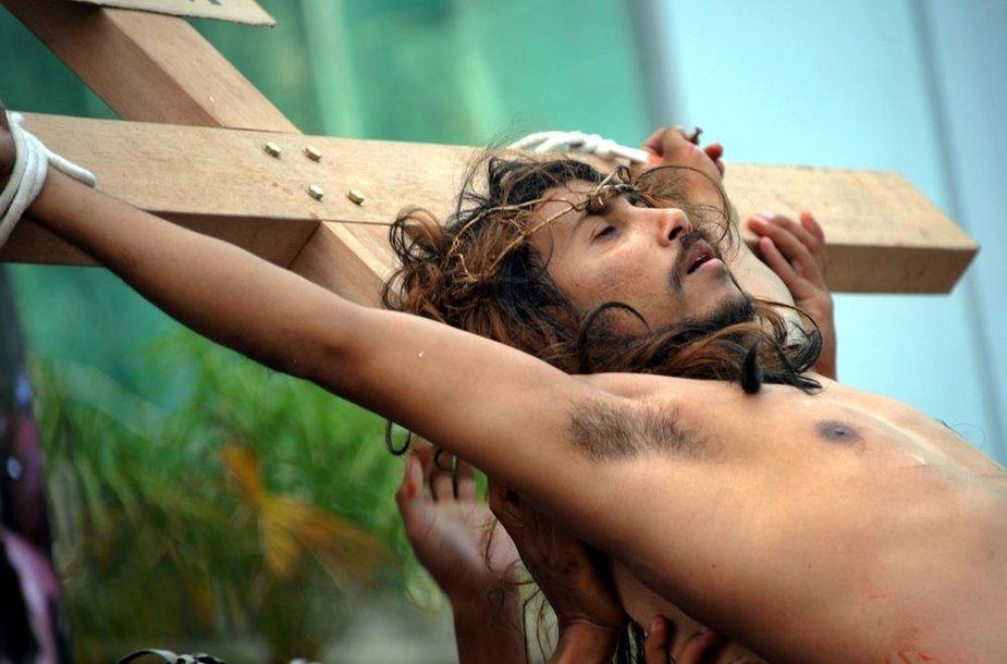 Paskutinių Jėzaus Kristaus gyvenimo valandų aktartojimas