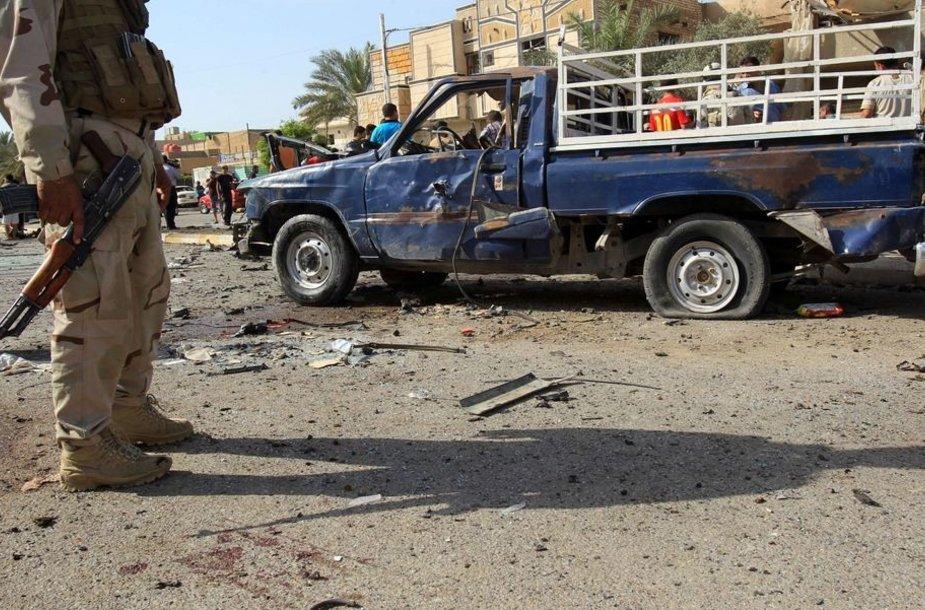 Sprogimo padariniai Bagdade