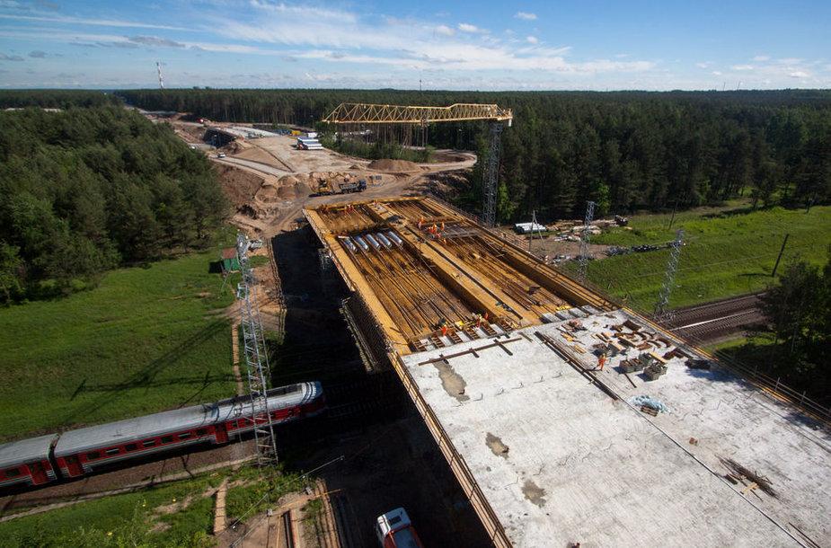 Vilniaus aplinkkelio statybos darbai