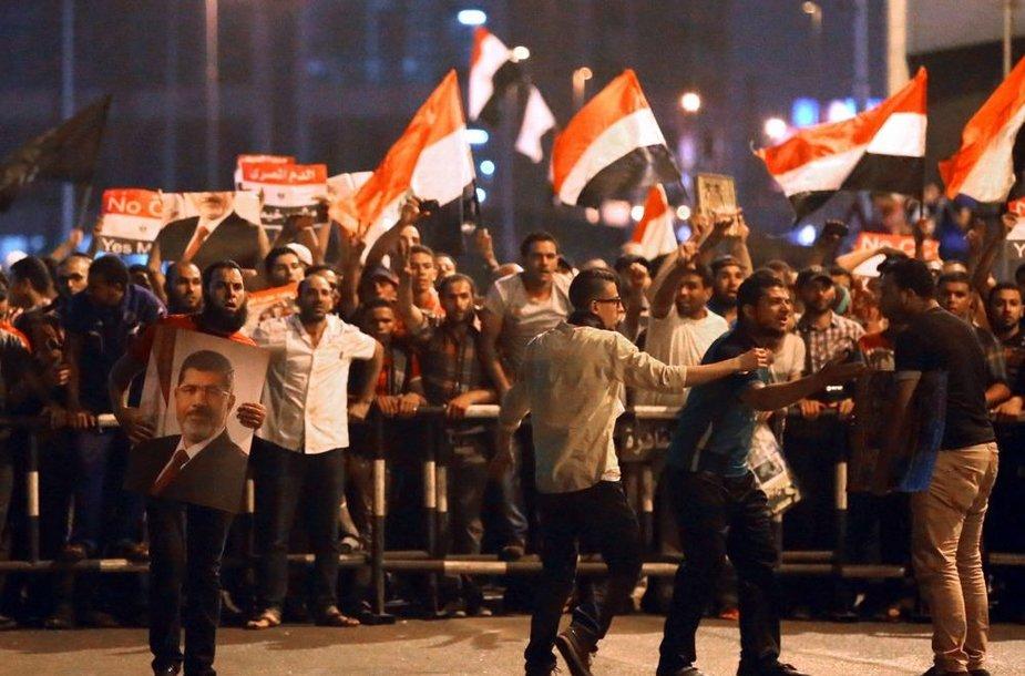 Protestuotojai Egipte