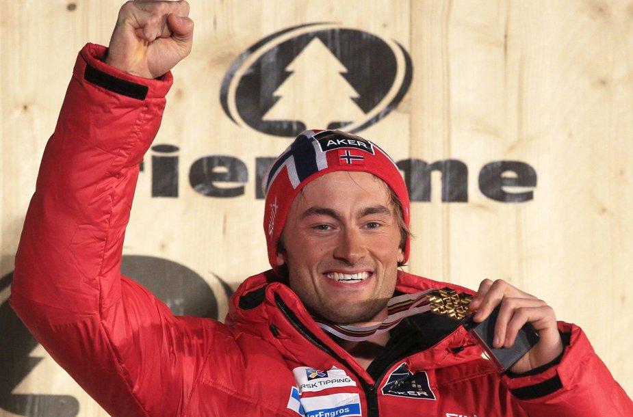 Norvegijos slidininkas Petteris Northugas