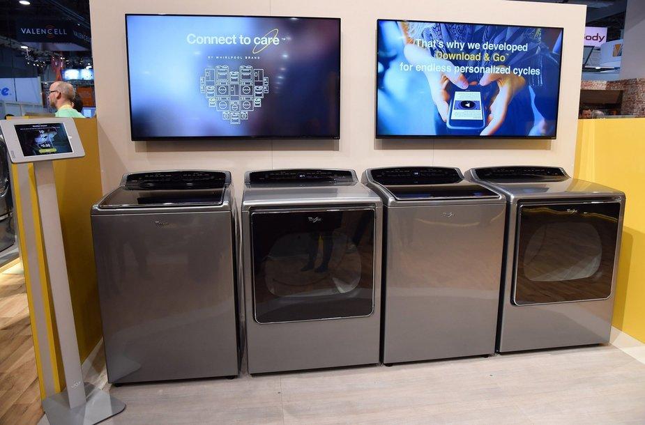 """""""Whirlpool"""" išmaniosios skalbimo mašinos"""