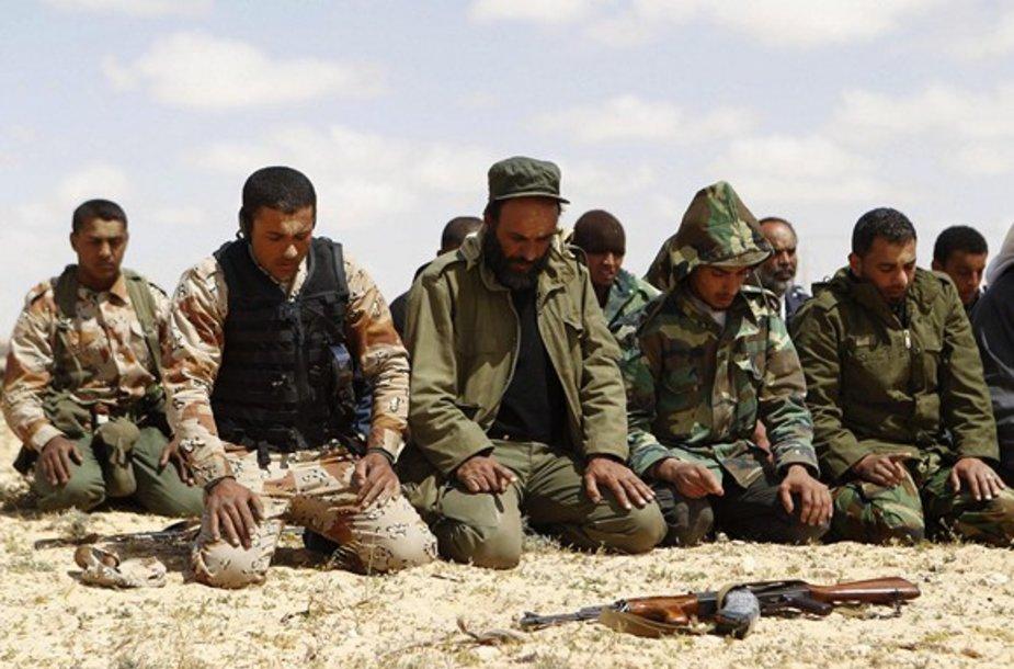 Libijos sukilėlių malda