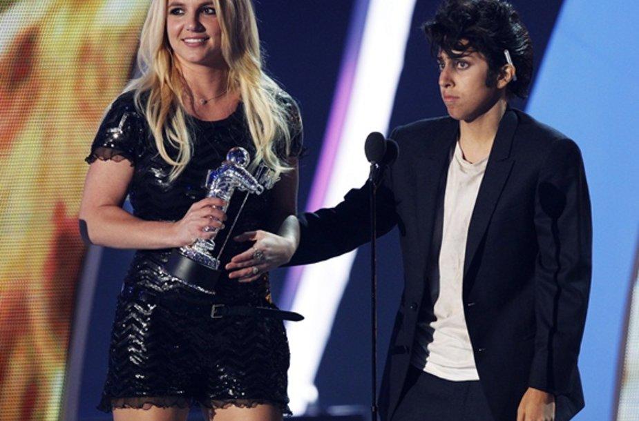 Britney Spears ir Lady Gaga