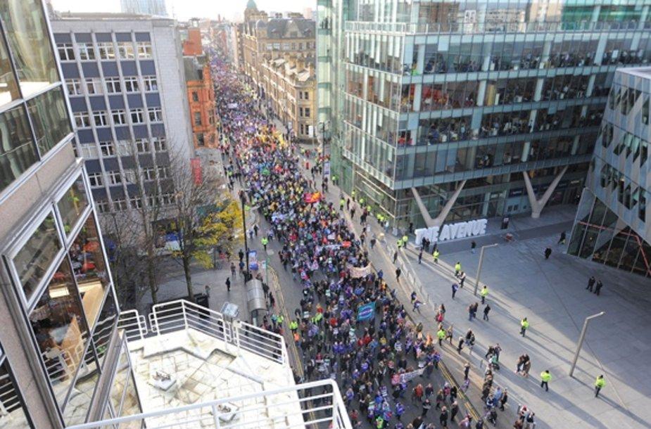 Protestas Didžiojoje Britanijoje