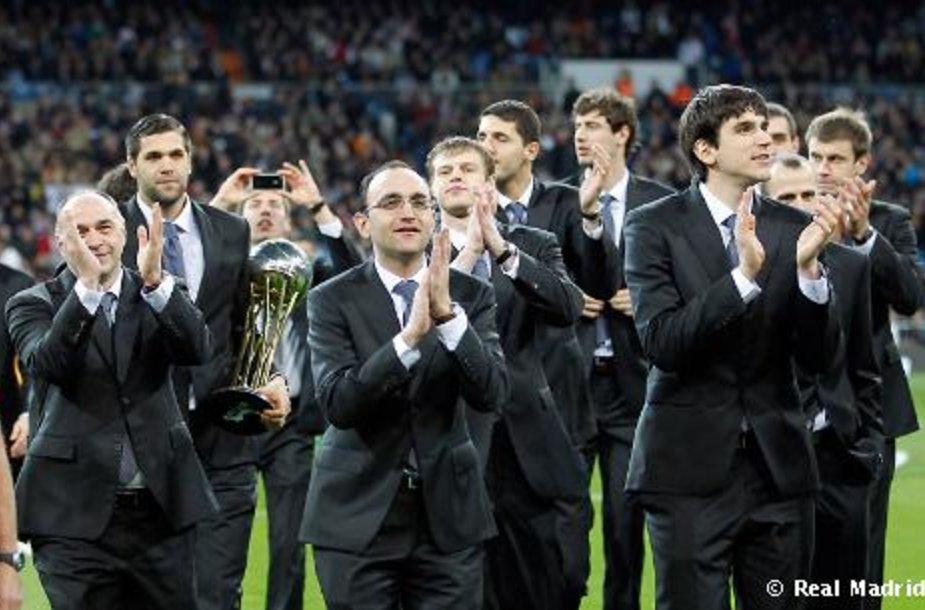 Madrido krepšininkai turėjo dar vieną progą pasidžiaugti trofėjumi