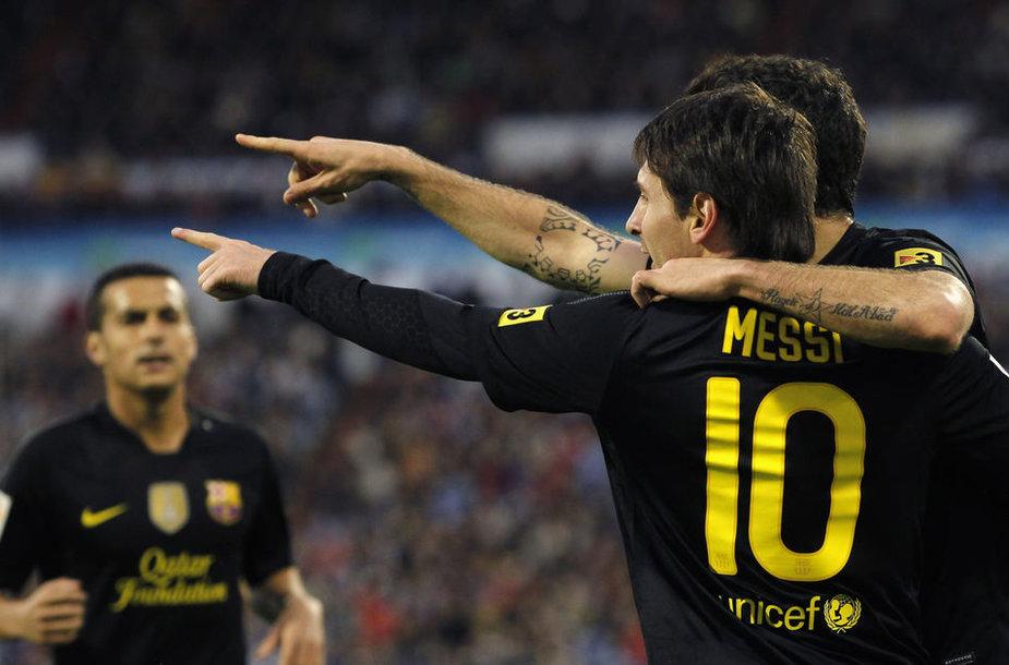 Barselonos futbolininkai