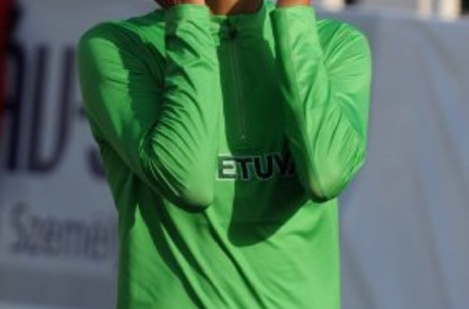 Eglė Balčiūnaitė nugalėjo 800 m bėgime.