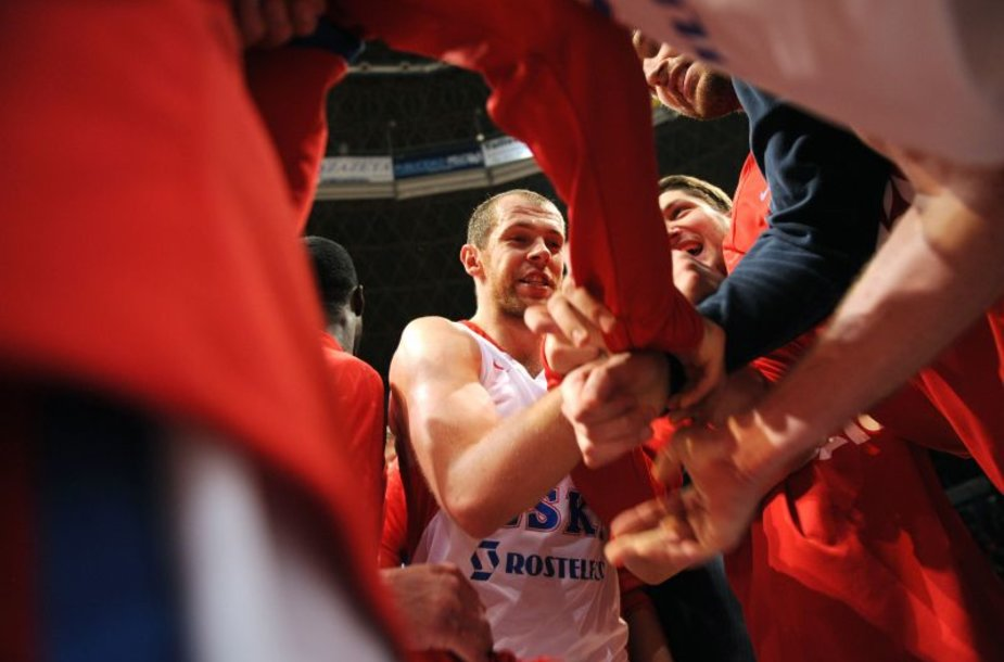 Ramūnas Šiškauskas pelnė 19 taškų.