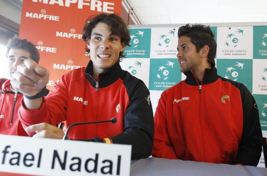 Rafaelis Nadalis po dvejų metų petraukos grįžta į rinktinę.