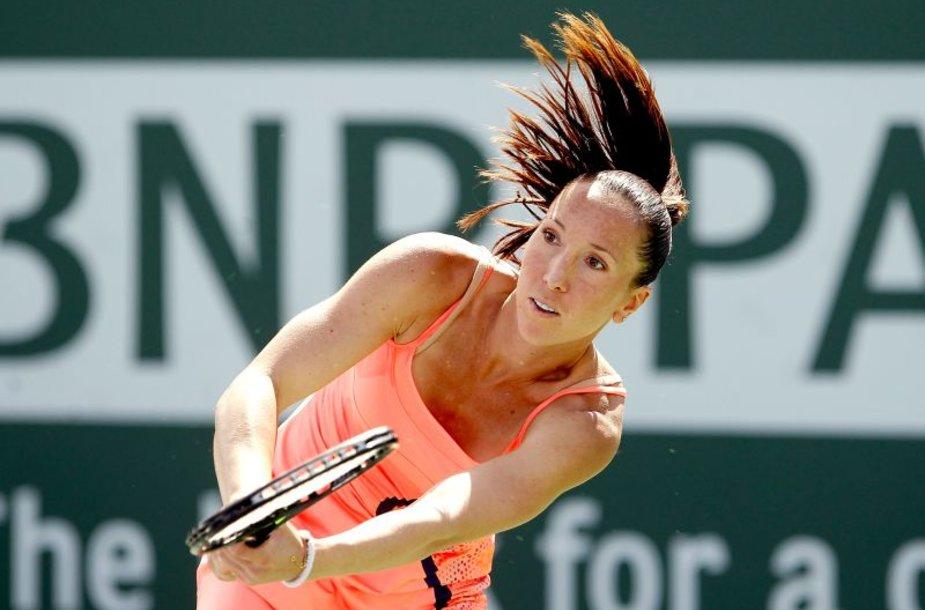 Jelena Jankovič baigė savo pasirodymą Kalifornijoje.