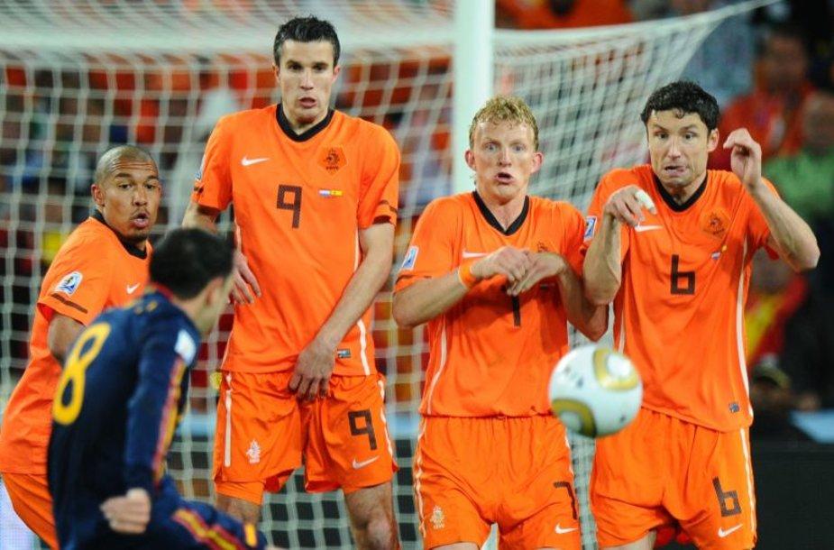 Olandijos futbolo rinktinė pasaulio čempionate