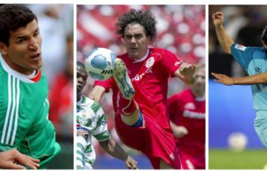 Suspenduoti penki Meksikos futbolo rinktinės žaidėjai