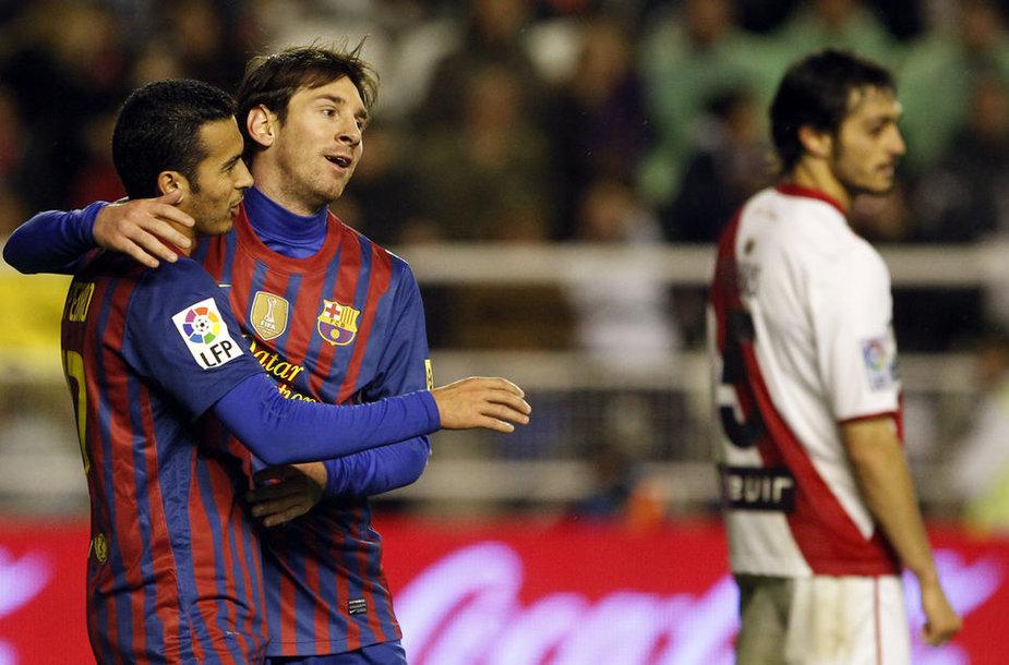 Lionelis Messi ir Pedro Rodriguezas