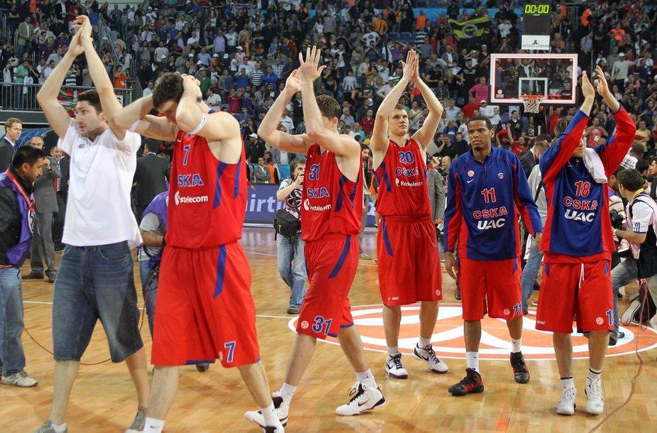 Maskvos CSKA po tragiško pralaimėjimo