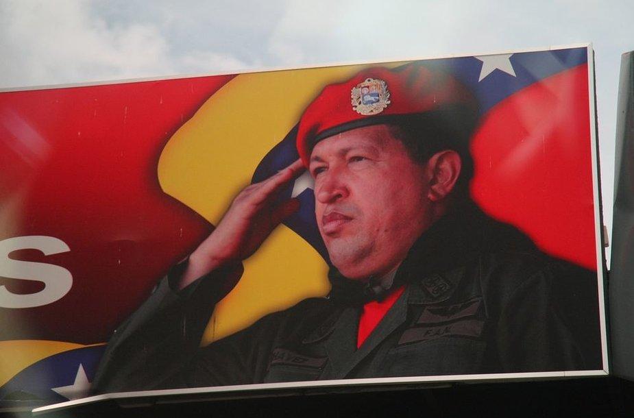 Ho Chavezo plakatas