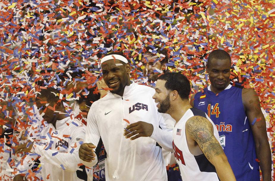 JAV krepšininkai