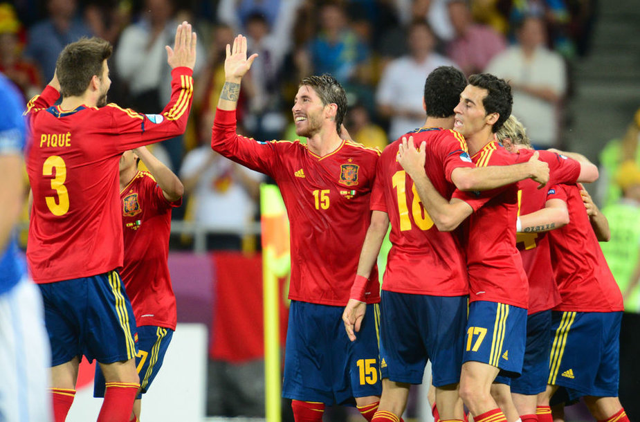 Ispanijos futbolo rinktinė