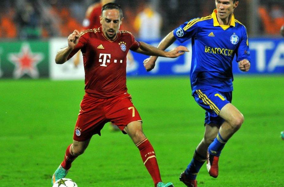 Borisovo BATE futbolininkai palaužė favoritus