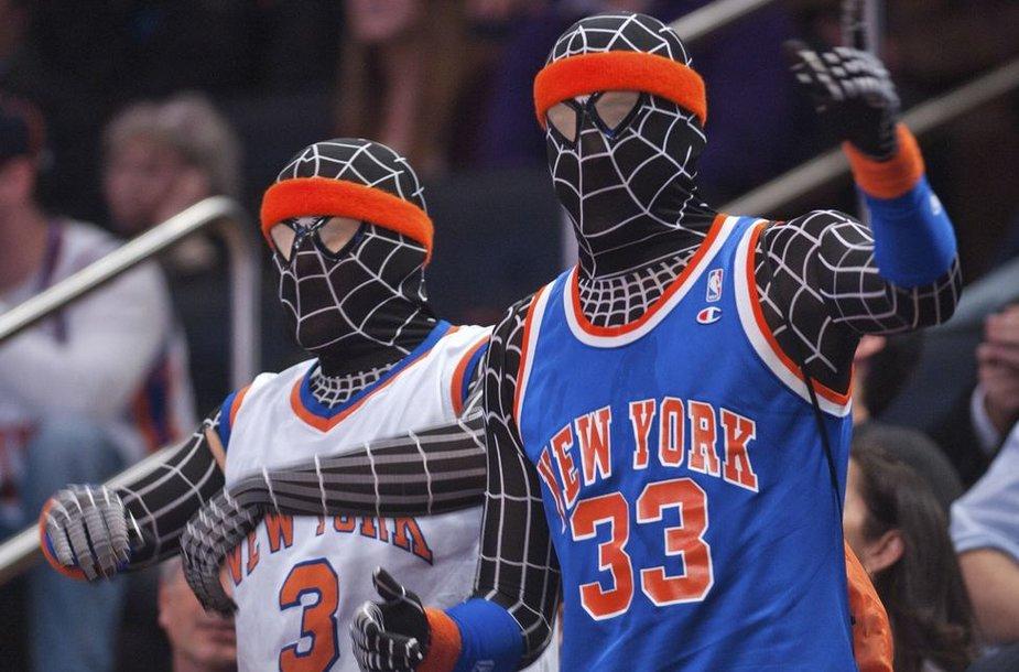 """Niujorko """"Knicks"""" gerbėjai"""