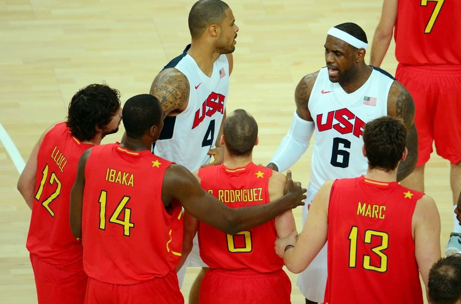 Ispanijos krepšininkams olimpiniai sidabro medaliai prilygo nesėkmei, todėl milijonus uždirbančios žvaigždės pyktį išliejo ant olimpinio kaimelio apartamentų, kuriuose buvo apsistojusios