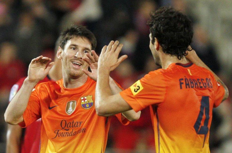 Lionelis Messi su komandos draugais sieks pergalės