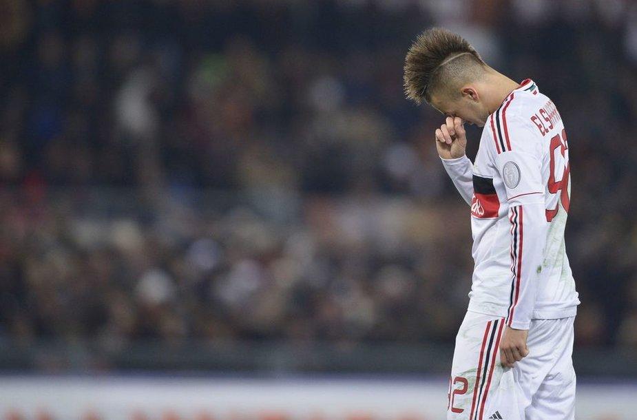 """Dėl nesiliaujančių rasistinių skanduočių """"Milan"""" ekipa nutraukė draugišką mačą su Italijos ketvirtosios lygos """"Pro Patria"""" klubu."""