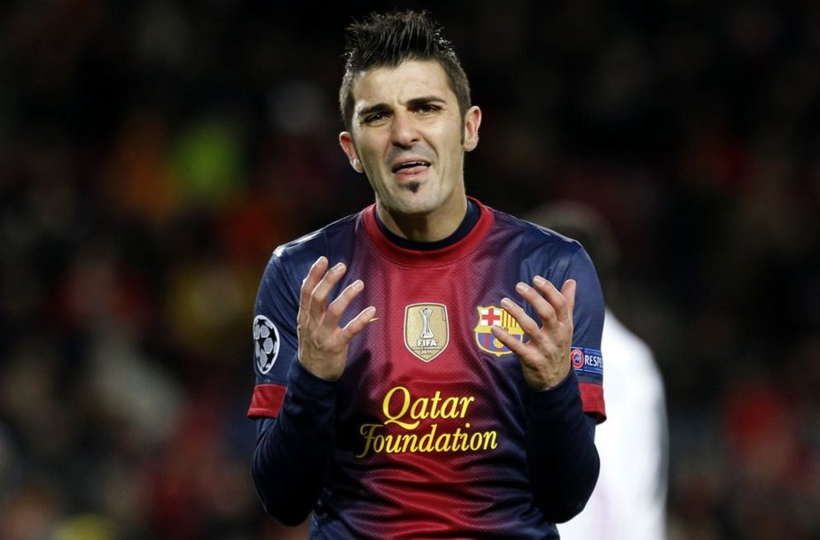 "Davidas Villa turėtų likti ""Barcelona"" ekipoje"