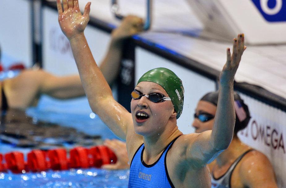 Rūta Meilutytė Liuksemburge iškovojo net tris aukso medalius