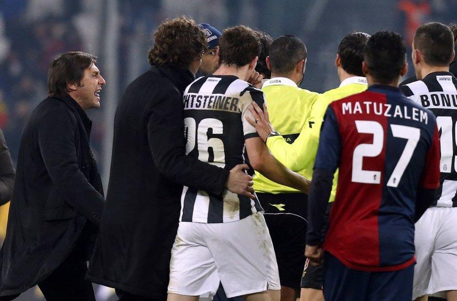 """""""Juventus"""" neįveikė """"Genoa"""" klubo"""